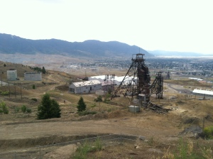 This is an example of a larger mine used in the 1900's during the copper boom.