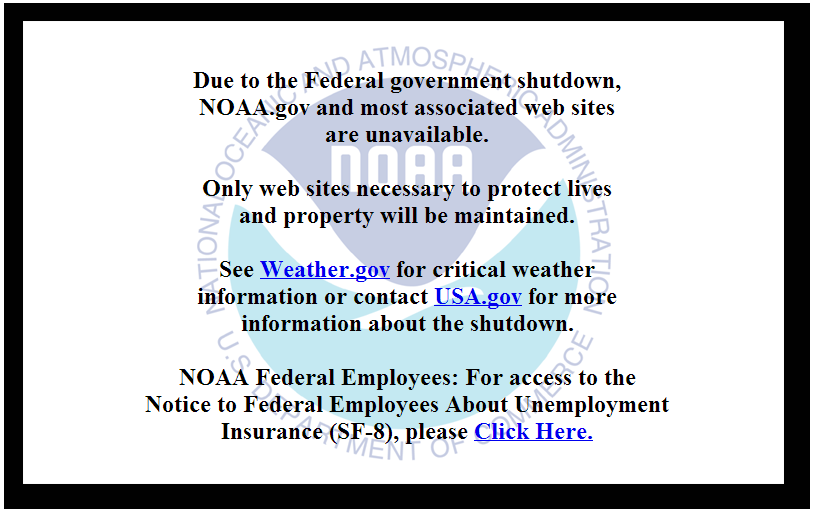Is the Government Shutdown Over Yet? – Environmental
