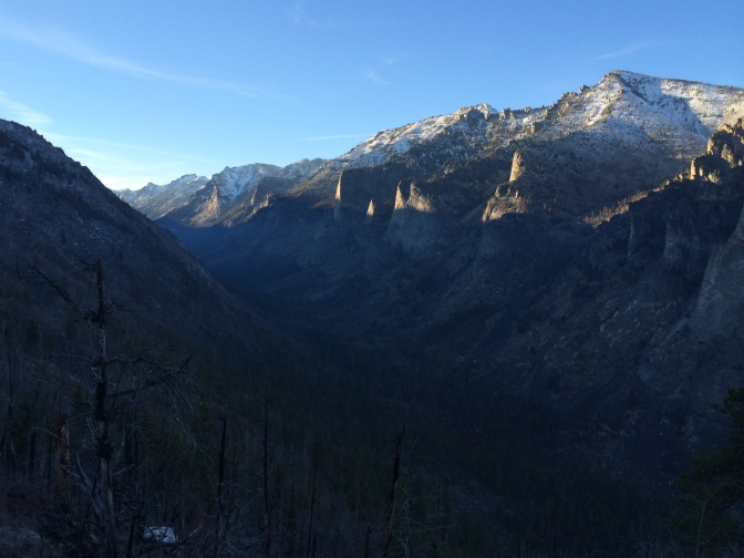Blodgett Canyon from the overlook trail