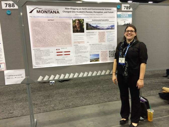 My poster session!