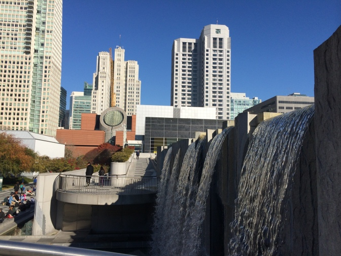 Yerba Buena Gardens behind the Moscone Center