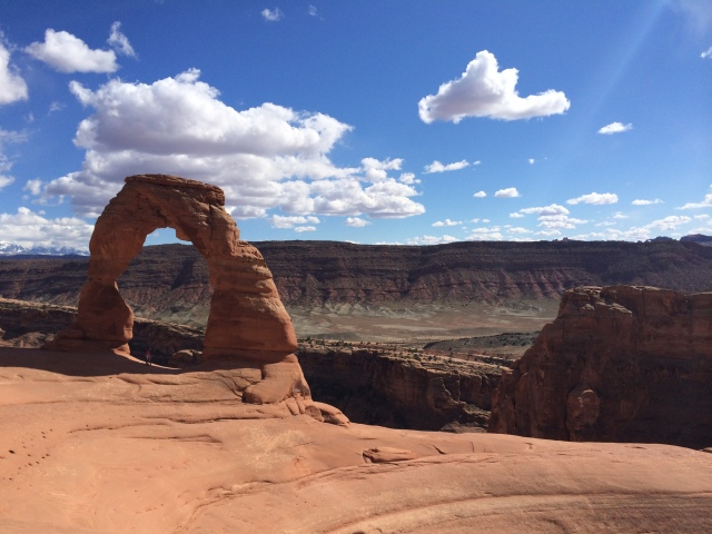 Delicate Arch from afar