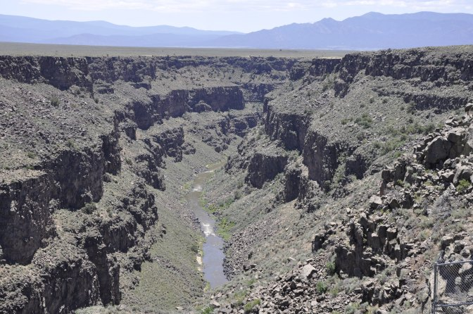 Rio Grande Del Norte National Monument from my trip in June 2014