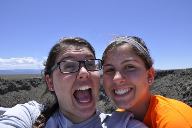 Sister selfie!