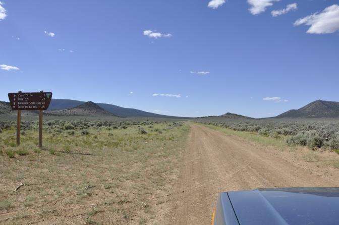 Off-roading to Colorado!