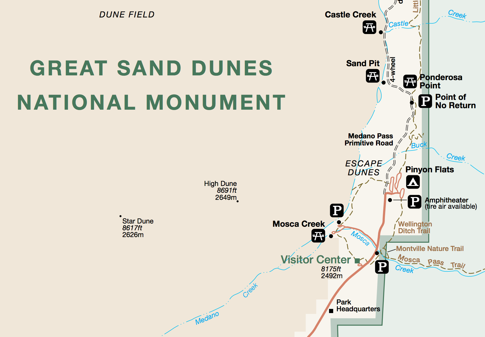 Exploration Great Sand Dunes National Park Environmental Explorations