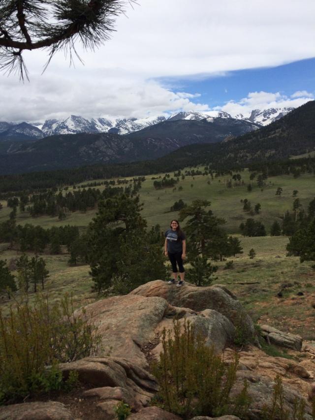 Longs Peak Overlook