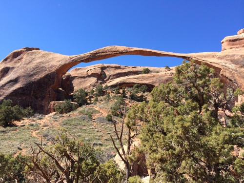 Landscape Arch in Arches, NP (Moab, UT)