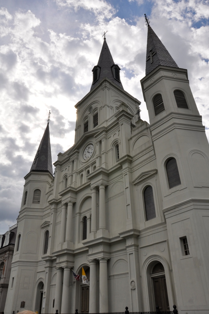 St. Louis Cathedral along Jackson Square