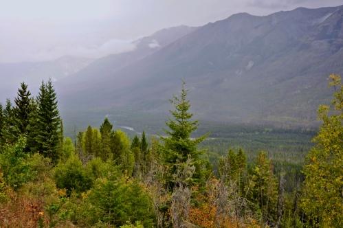 Overlook point in Kootenay