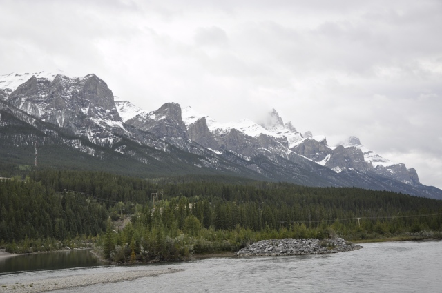 Rundle Peaks - still a bit cloudy