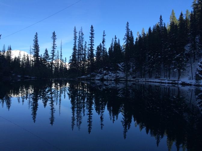 Pretty perfect reflection.
