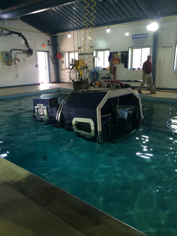 Helicopter crash simulator