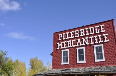 Polebridge Merchantile - the only open store!
