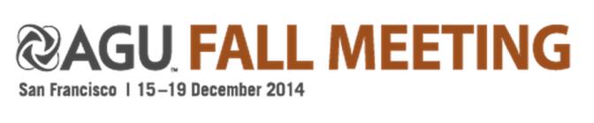AGU Fall Meeting 2014