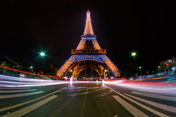 Paris, France - hope of the COP 21 Climate Talks in December, 2015.
